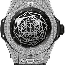 Hublot Big Bang Sang Bleu Titanium Black United States of America, New York, Brooklyn