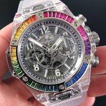 Hublot Big Bang Unico Rainbow Sapphire (NEW) 411 JX 4803 RT 4099
