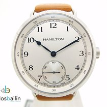 Hamilton Steel 46mm Manual winding H787195 new