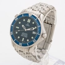 Omega Seamaster Diver 300 M Bond blue wave automatic