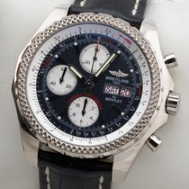 Breitling For Bentley GT Limited Edition 18K Whitegold Gold...