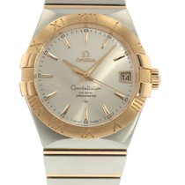 Omega Constellation 2009 123.20.38.21.02.001 Watch with 18k...