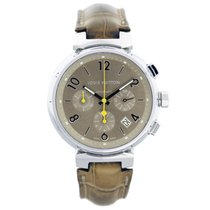 Louis Vuitton Steel 41mm Automatic Q1122 pre-owned