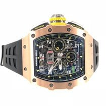 Richard Mille RM011-03 Rose gold 2018 RM 011 49.94mm new