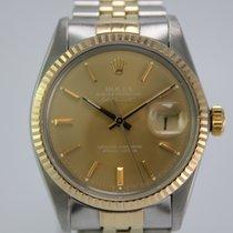 Rolex Datejust 16013 Vintage #A3428 Gold / Stahl 1A Zustand