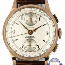 Wakmann Or rose 34mm Remontage manuel occasion