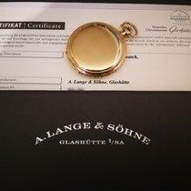 A. Lange & Söhne 14K 585 All Gold kal 75 OLIW Pocket Watch -...