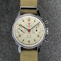 Sea-Gull Aço 38mm Corda manual 1963 novo