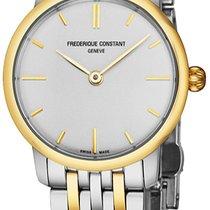 Frederique Constant Slimline Mid Size FC200S1S33B3 new
