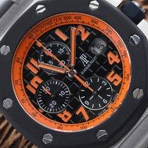 Audemars Piguet Royal Oak Offshore Chronograph Volcano Steel 42mm Black Arabic numerals