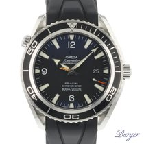 Omega Seamaster Planet Ocean pre-owned 45.5mm Steel