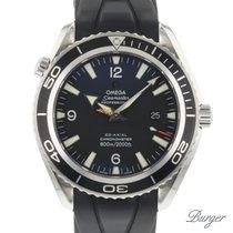Omega Seamaster Planet Ocean Acero 45.5mm Negro Árabes