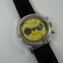 Franck Muller Chronograph 37mm Manual winding 1995 pre-owned Yellow