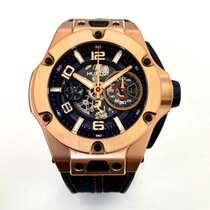 Hublot Big Bang Ferrari Oro rosado 45mm Transparente Árabes