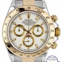 Rolex Daytona Gold/Steel 40mm White United States of America, New York, Massapequa Park