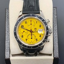 Tudor Tiger Prince Date Steel 40mm Yellow