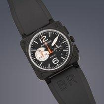 Bell & Ross BR 03-94 Chronographe Steel 42.5mm Black Arabic numerals United Kingdom, London