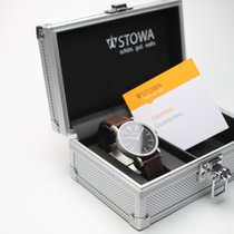 Stowa new Automatic Display Back Center Seconds Only Original Parts 39mm Steel Sapphire Glass