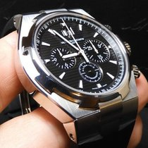 Vacheron Constantin Overseas Chronograph pre-owned 42mm Black Chronograph Date