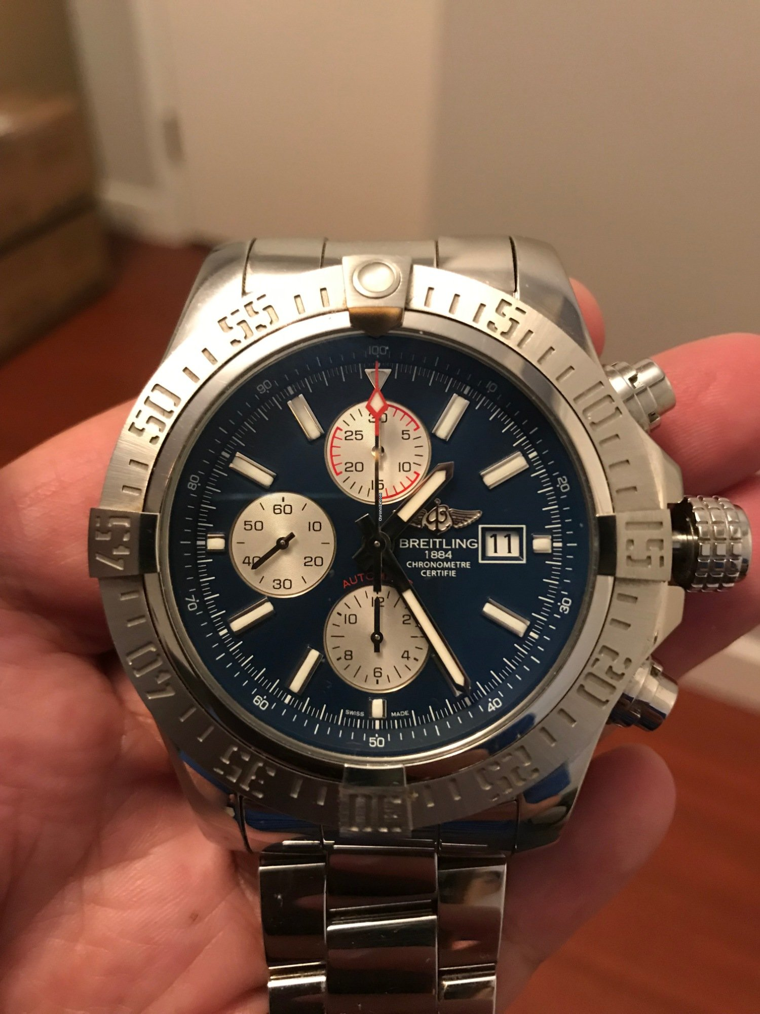 Breitling Super Avenger II for NZ$ 5,643 for sale from a