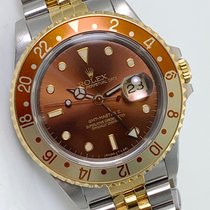 Rolex Gold/Steel 40mm Automatic 16713 pre-owned