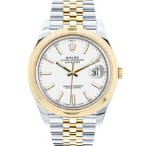 Rolex Datejust Gold/Steel 41mm No numerals United States of America, New York, New York