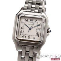 Cartier Panthère Steel 40mm Silver Roman numerals