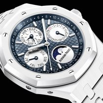 Audemars Piguet Royal Oak Perpetual Calendar Ceramic 42mm Blue No numerals