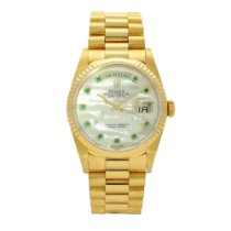 Rolex Day-Date 36 Yellow gold 36mm Mother of pearl No numerals United Kingdom, Liverpool