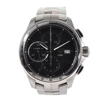 TAG Heuer Link Calibre 16 Steel 41.5mm Black