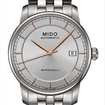 Mido Steel 38mm Automatic M8600.4.10.1 new