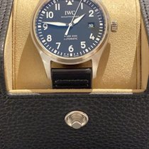 IWC Pilot Mark Steel 40mm Black Arabic numerals United States of America, Iowa, Des Moines