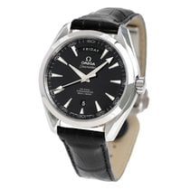 Omega Steel Automatic Black 48mm new Seamaster Aqua Terra