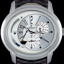 Audemars Piguet Millenary Steel 46mm Silver Arabic numerals