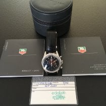 TAG Heuer Carrera Calibre 17 Acier 39mm Noir Arabes France, Saint Maur des Fosses