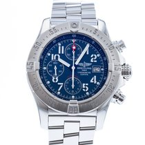 Breitling Avenger Skyland Steel 45mm Blue United States of America, Georgia, Atlanta