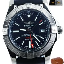 Breitling Avenger II GMT Steel 42mm Black United States of America, New York, Smithtown