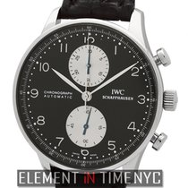 IWC Portuguese Chronograph White gold 41mm Black Arabic numerals United States of America, New York, New York
