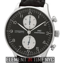 IWC Portuguese Chronograph IW3714-13 new