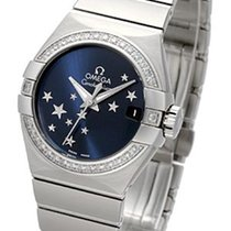 Omega Constellation Brushed Chronometer Orbis