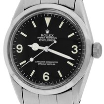 Rolex Oyster Perpetual Explorer I 1016 Black Matte 34mm Watch