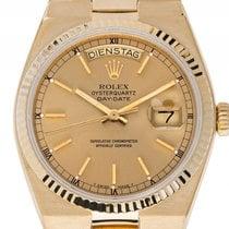Rolex Day Date Oysterquartz Gelbgold Quarz Armband Gelbgold...