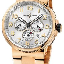 Ulysse Nardin 1506-150-8M/61 Marine Chronograph Manufacture Watch