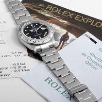 Rolex 2005 SS Explorer ll Black Dial - w/ Box - Papers - Manuals