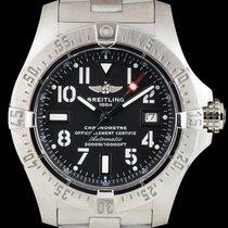 Breitling Avenger Seawolf Steel 45mm Black Arabic numerals United Kingdom, London