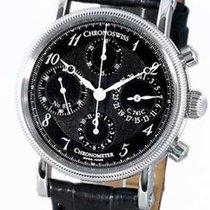 Chronoswiss CH7523-CD-BK Chronometer Chronograph in Steel - on...