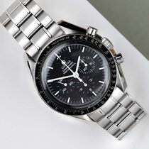 Omega Speedmaster Professional Moonwatch usados 42mm Negro Acero