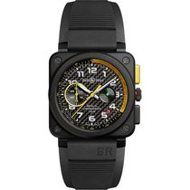 Bell & Ross Ceramic 42mm Automatic BR0394-RS17 new