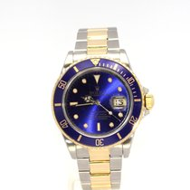 Rolex Submariner Date 16613 18/SS Blue  40mm