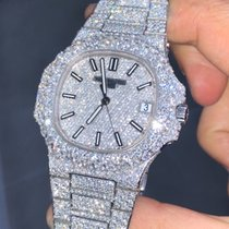 Patek Philippe Nautilus Custom Diamond (VERY FLASHY)